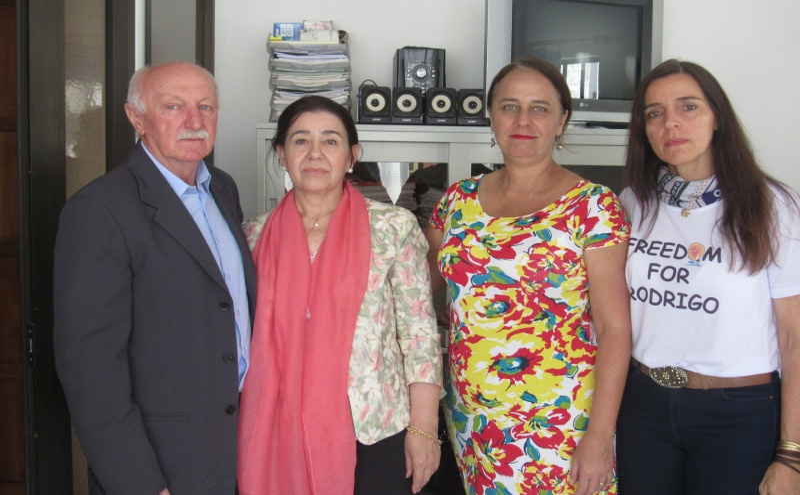 Télio Guerra, Fátima Guerra, Bárbara Dantes e Aniete Dantes