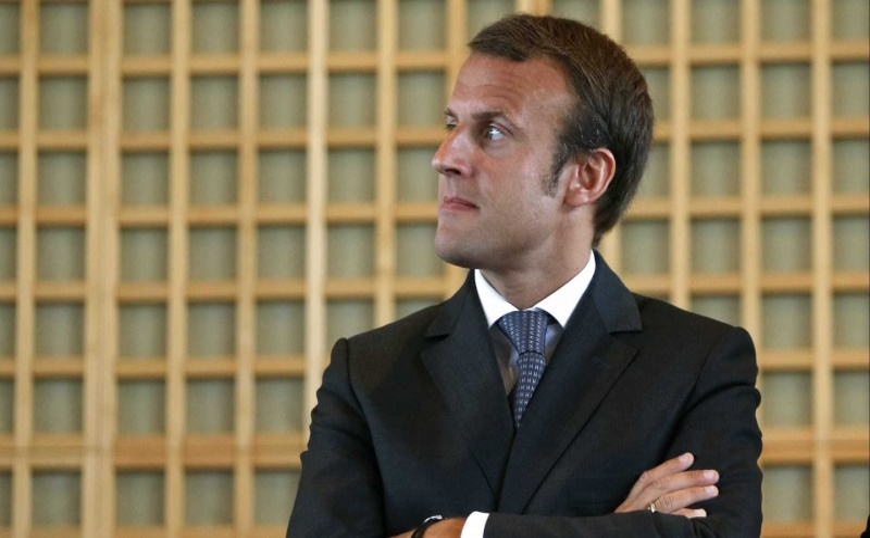 Emmanuel Macron quer solução para os refugiados
