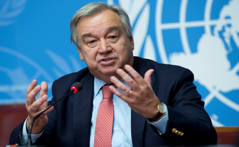 Secretário-geral da ONU recebe