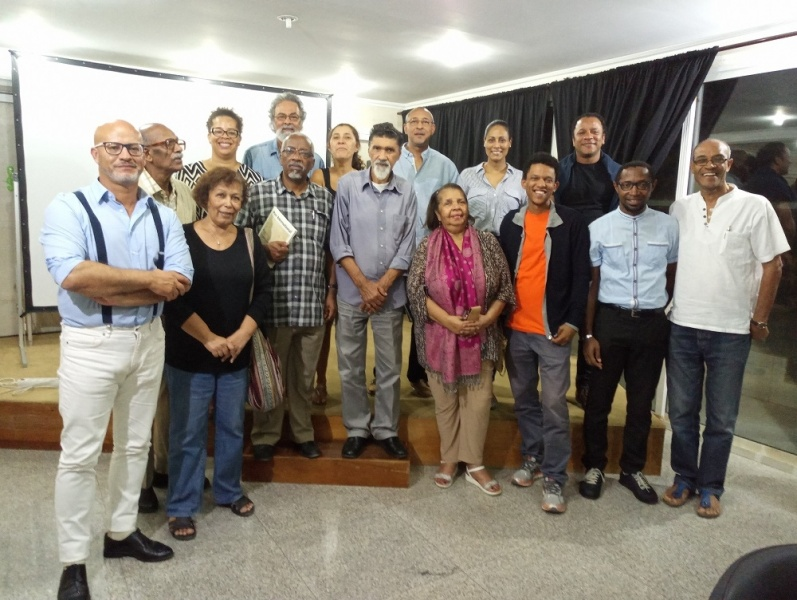 Os fundadores do PEN Club Cabo Verde