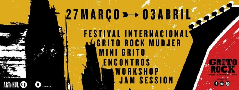 Cartaz do Grito Rock Praia 2018