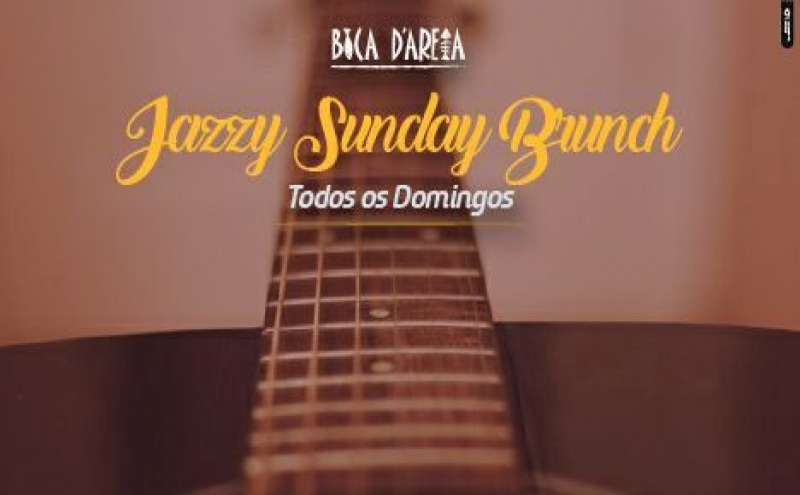 Brunch musical, aos domingos no Bica D'Areia (Praia)