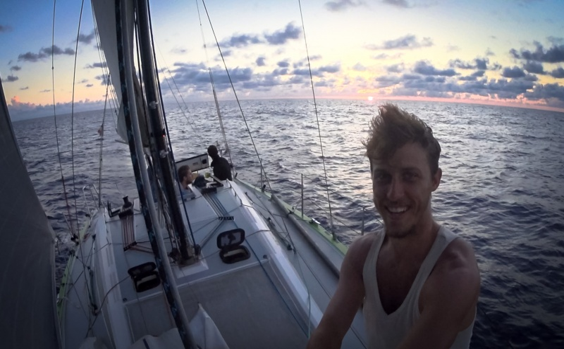 A viagem de travessia ao Atlântico