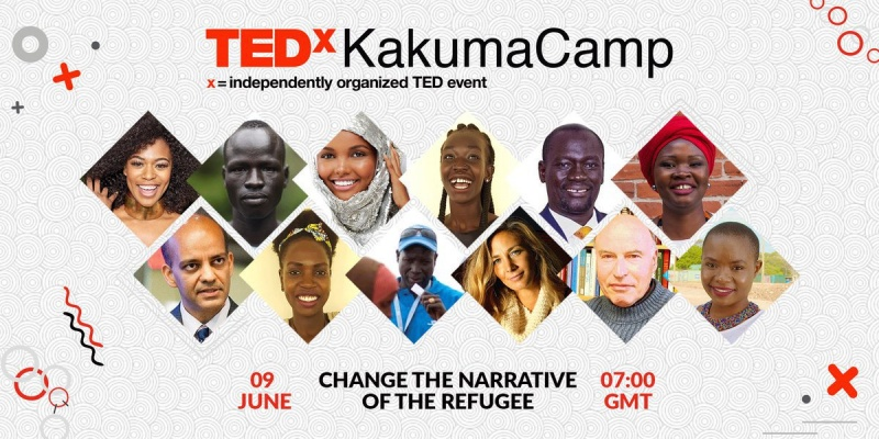 Cartaz do TEDxKakumaCamp