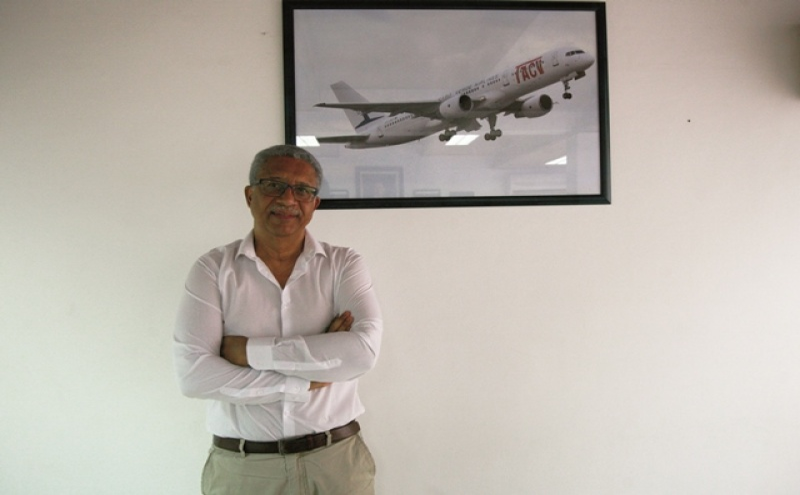 JoséLuísSá Nogueira é o presidente do Conselho de Administração da Cabo Verde Airlines (antiga TACV)
