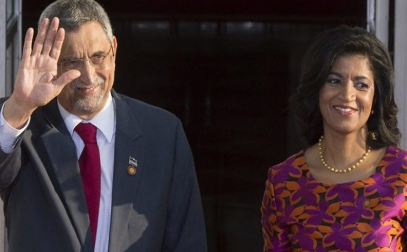 Jorge Carlos Fonseca e Lígia Fonseca