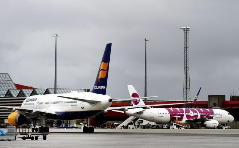 Icelandair e Wow representam, em conjunto, 3,8% do mercado aeronáutico transatlântico