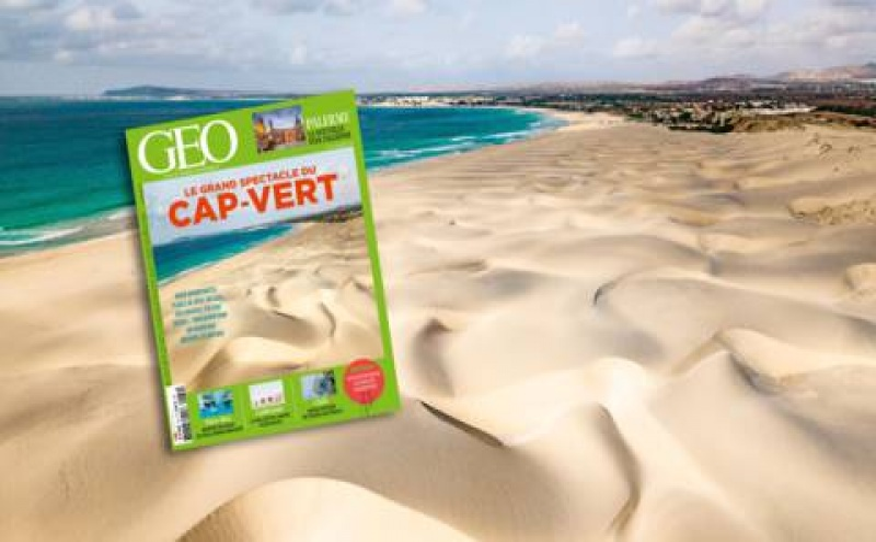A capa da GEO dedicada a Cabo Verde