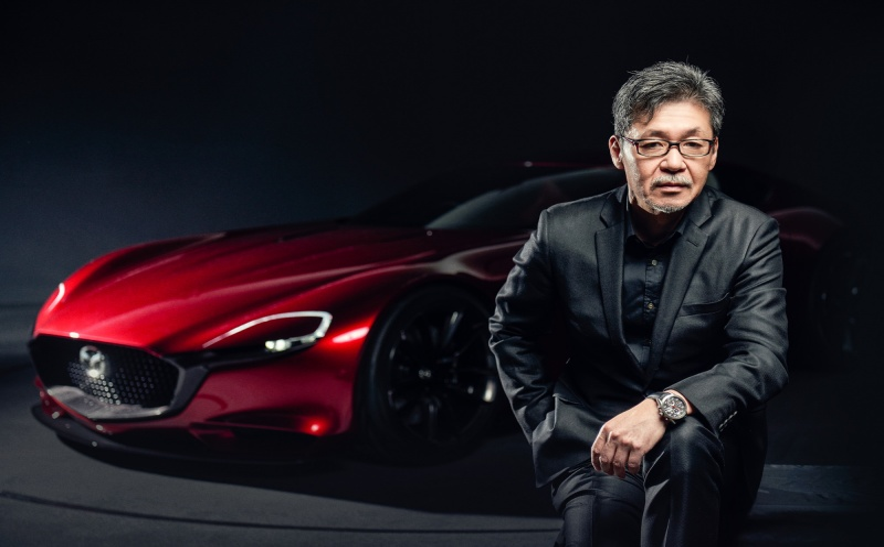 Ikuo Maeda, chefe do departamento de design da Mazda