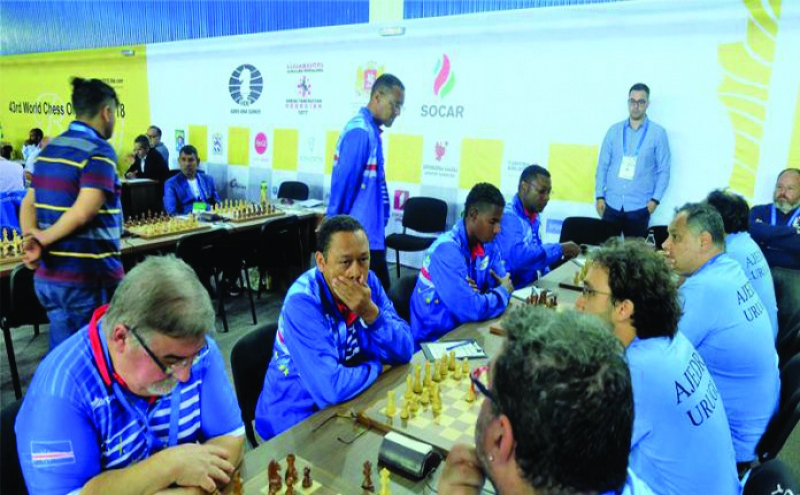 Batumi 2018. Primeira participação de Cabo Verde numa Olimpíada de Xadrez