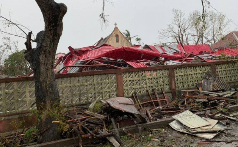 Estragos do ciclone Idai, na Beira