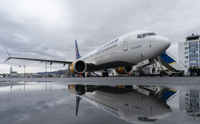 737 MAX 8 da Icelandair