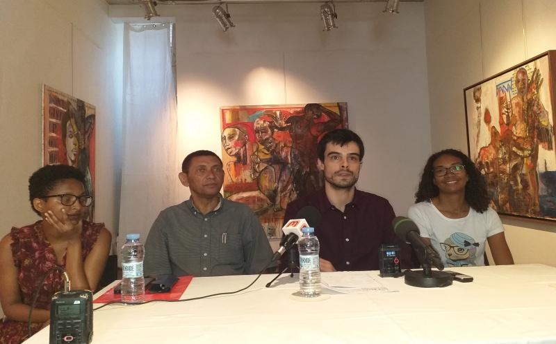 Mónica Brito, José Bettencourt, José Pinto e Aida de Pina