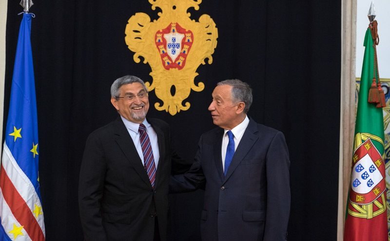 Jorge Carlos Fonseca e Marcelo Rebelo de Sousa
