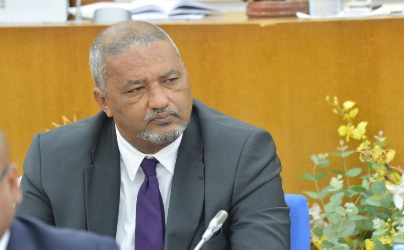 Arlindo do Rosário, ministro da Saúde