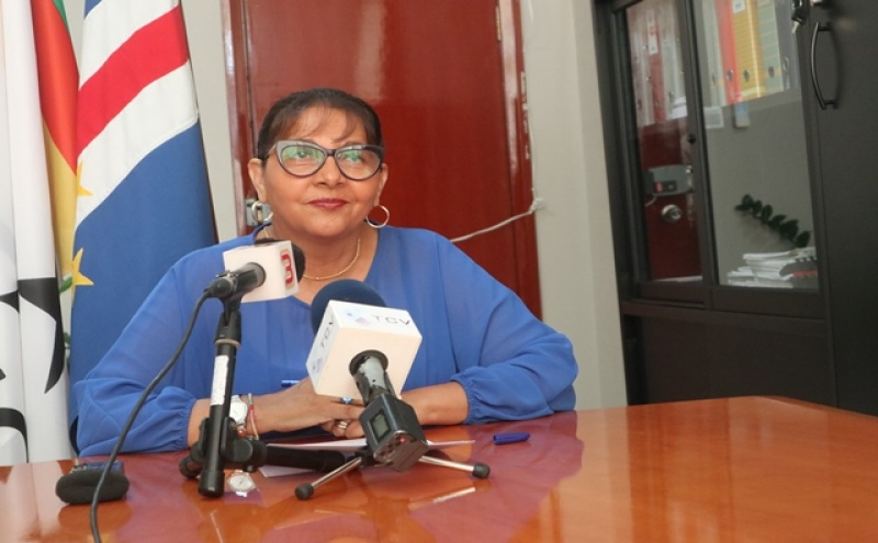 Membro do secretariado-geral do PAICV,  Paula Moeda