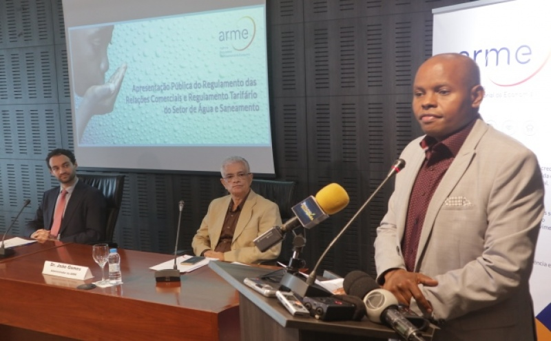 Presidente do conselho de administração da ARME, Isaías Barreto