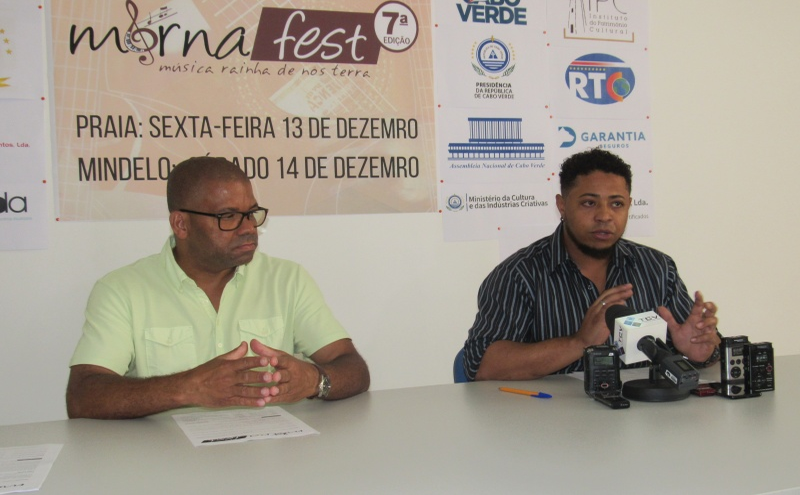 Júlio do Rosário e Yannick Oliveira