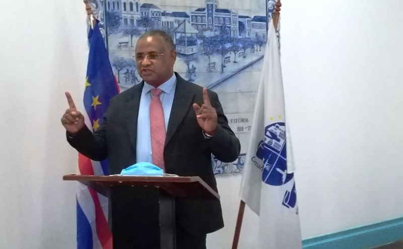 Presidente da câmara Municipal da Praia, Óscar Santos