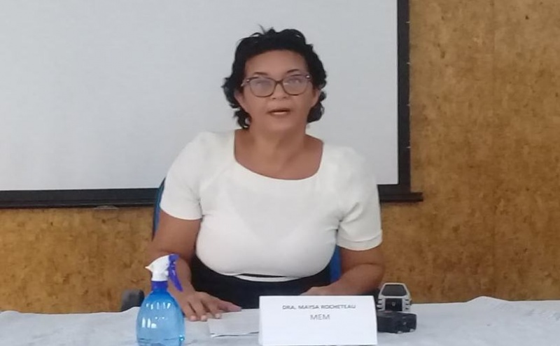 Inspectora-geral das Pescas, Maysa Rocheteau
