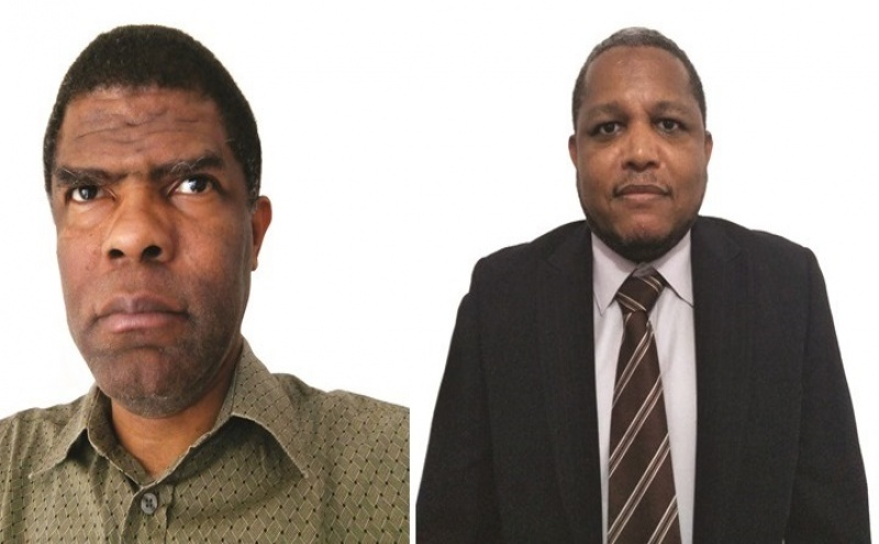 Esquerda para Direita : João Silvestre Alvarenga / Quintino  Lopes Castro Tavares