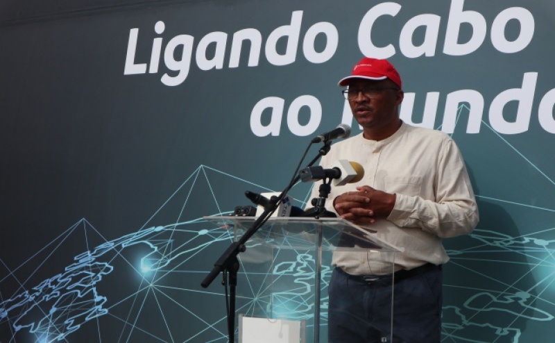 Coordenador do projecto do cabo Submarino EllaLink, Graciano Borges